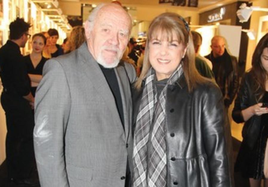 LIORA OFER with David Rubinger