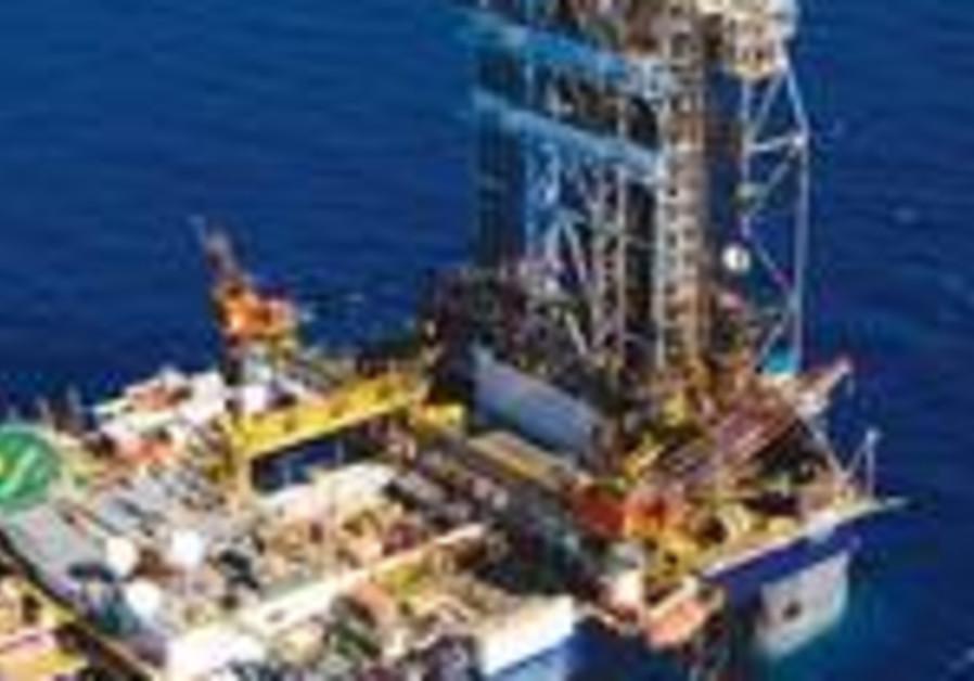 Leviathan natural gas drilling rig