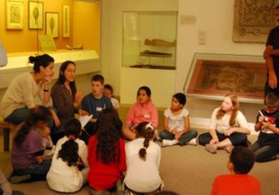 Bible Lands Museum children's program