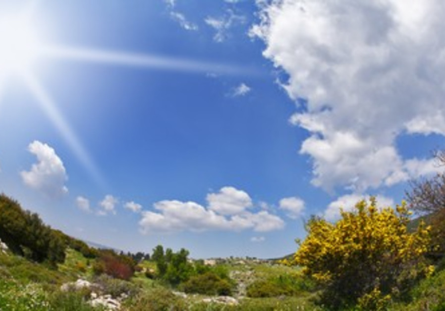Sunshine in Israel