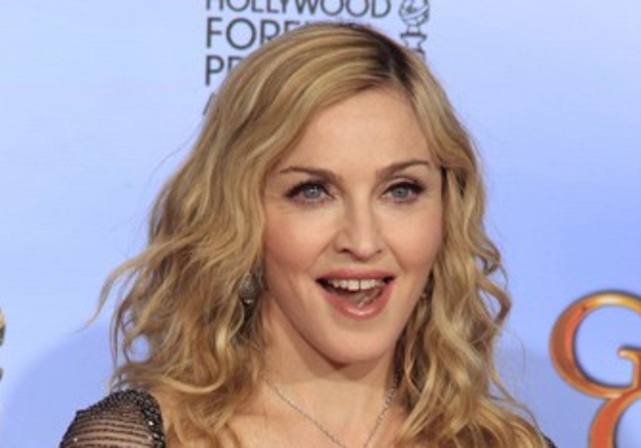 International pop star Madonna.