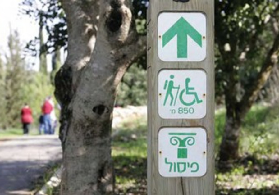Hikes for the disabled