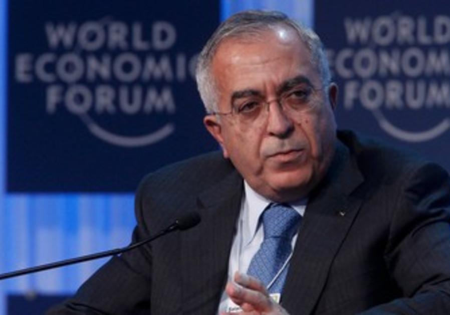 Palestinian Authority PM Salam Fayyad