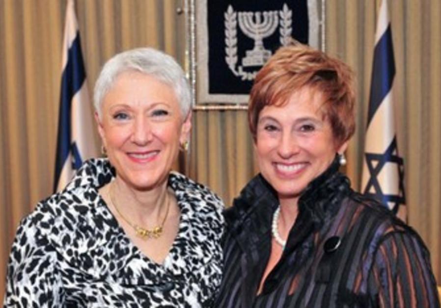 Marcie Natan and Nancy Falchuk.