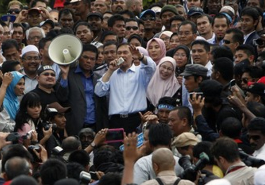Malaysia's opposition leader Anwar