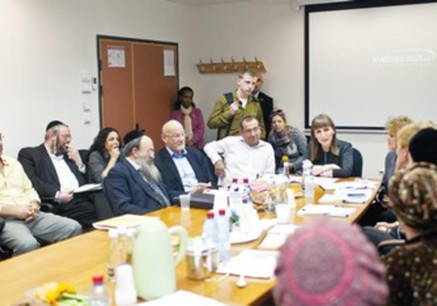 Limor Livnat meets fledgling filmmakers