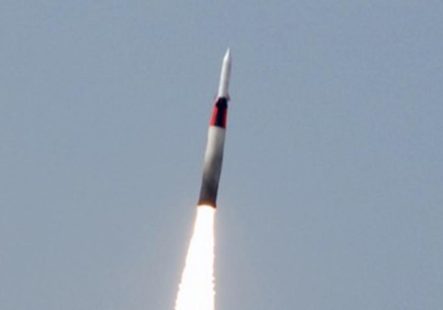 The Arrow missile defense sytem.
