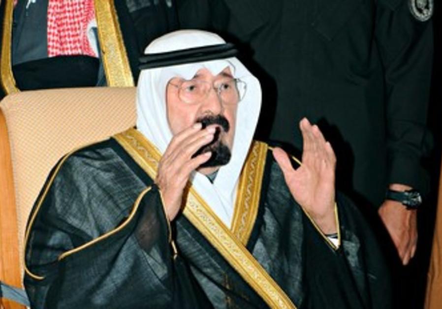 Saudi King Abdullah.