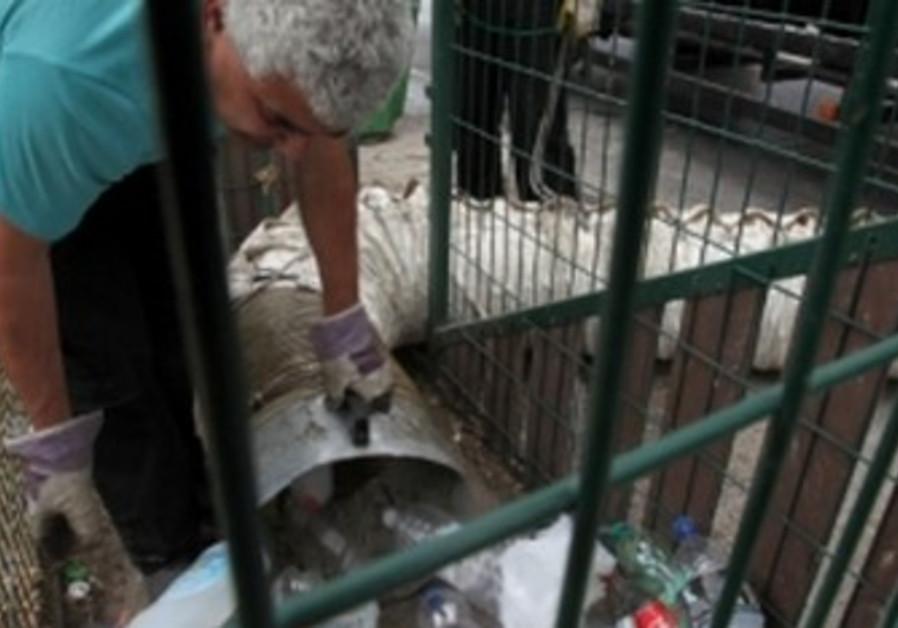 recycling in Jerusalem