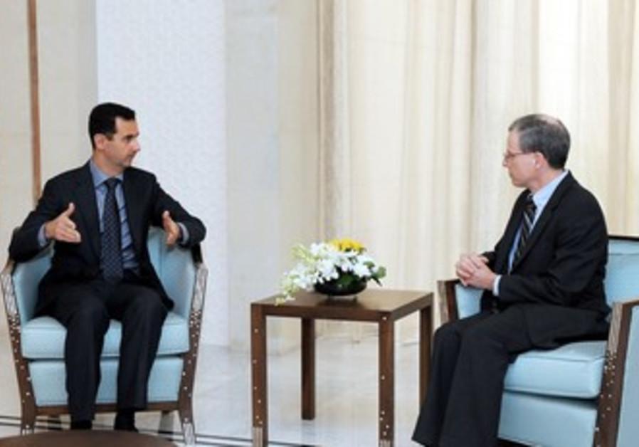 Robert Ford and Assad