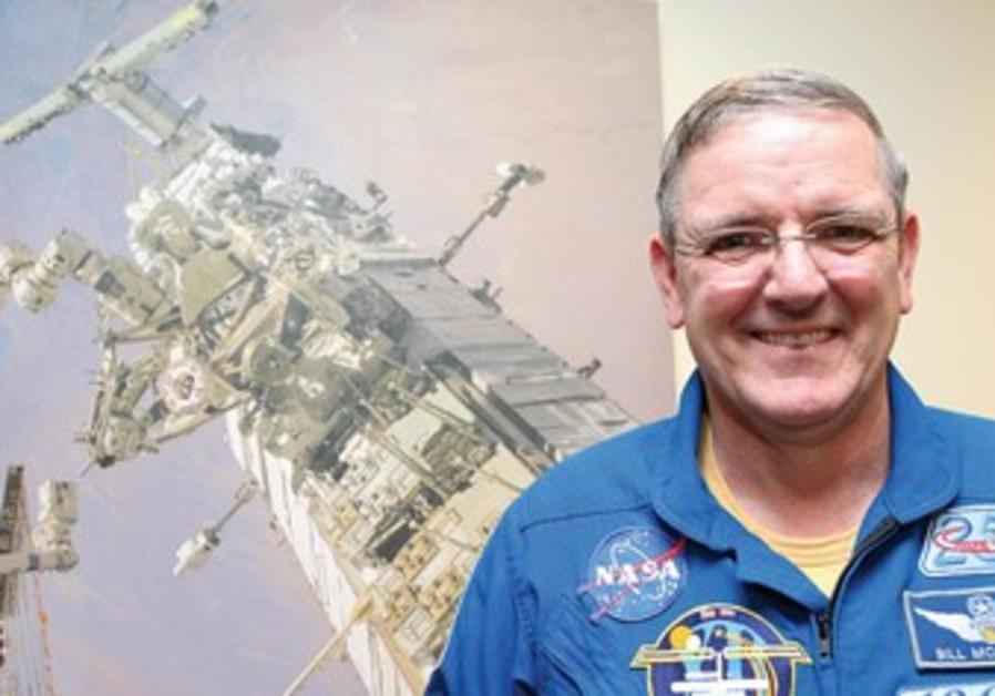RETIRED NASA astronaut William McArthur, Jr.