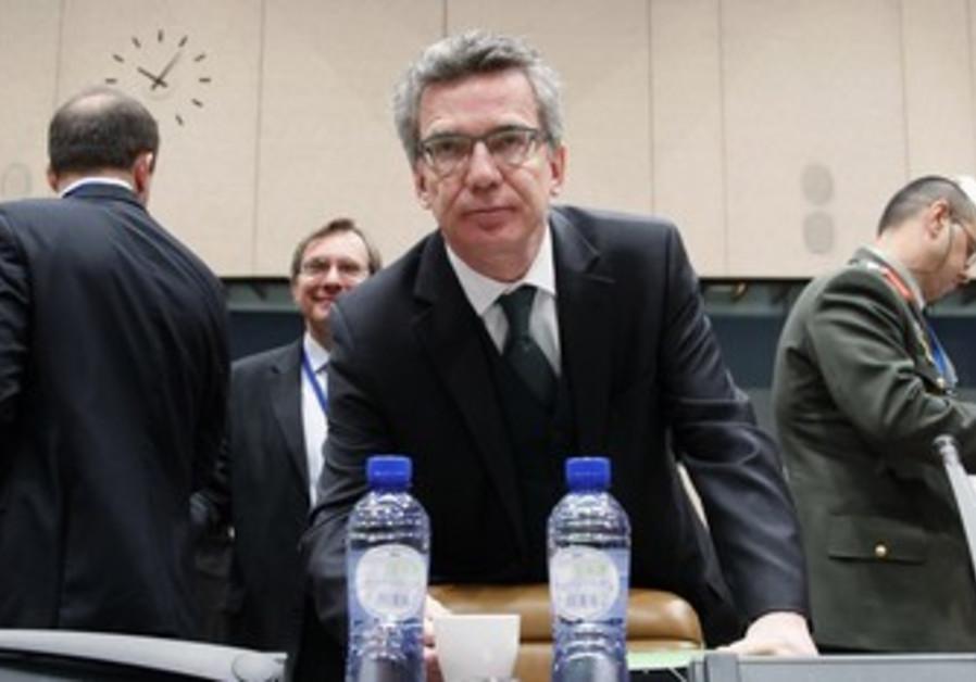 German Defense Minister Thomas de Maiziere [file]