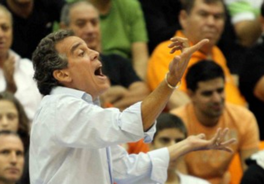 Maccabi Rishon coach Effi Birenboim