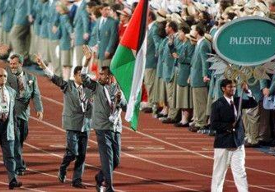 First-ever Palestinian Olympic delegation [file]