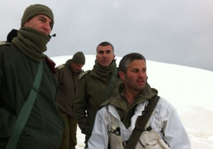 IDF tours Golan