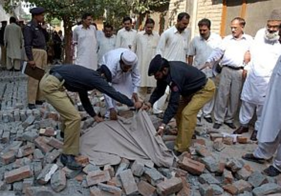 Israel offers Pakistan earthquake assistance