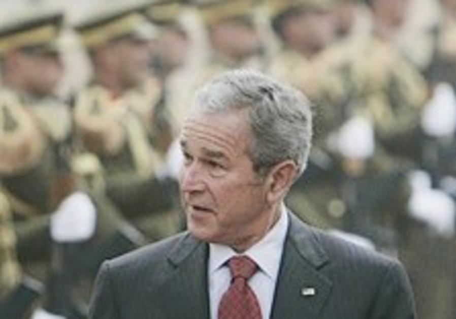 Bush tells Israel: End the occupation
