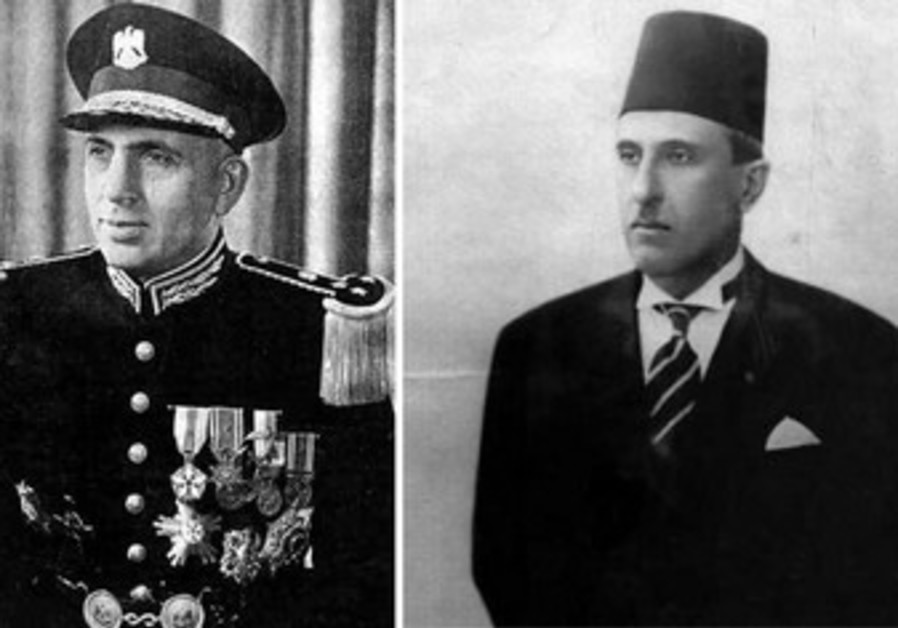 ADIB SHISHAKLI (left) and SHUKRI AL-QUWATLI