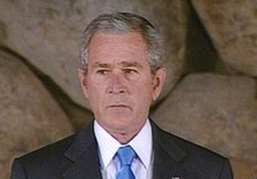 Bush: We should have bombed Auschwitz
