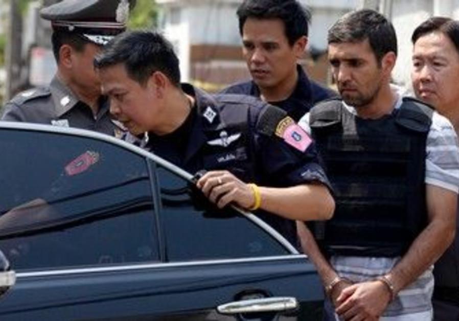 Thai police escort Iranian terror suspect