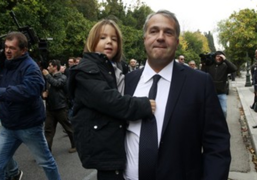 Far right Greek MP Makis Voridis
