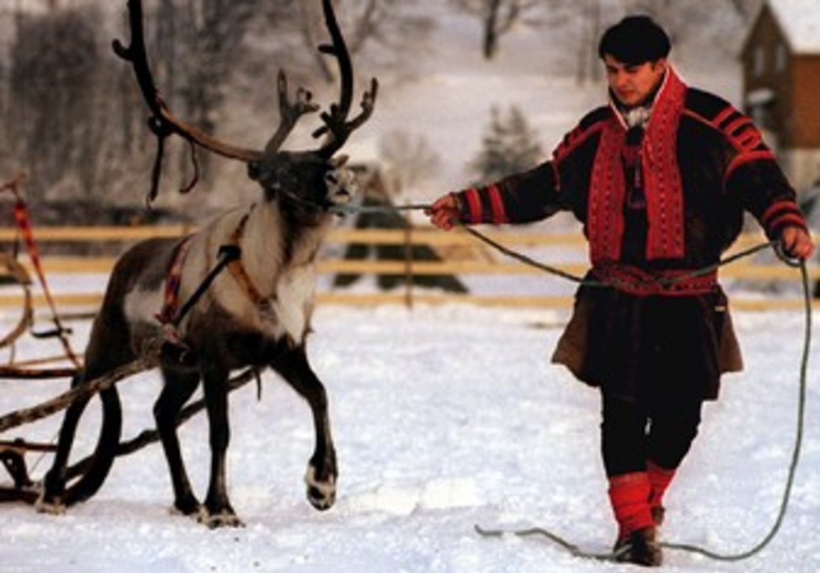 Member of the Sami ethnic group