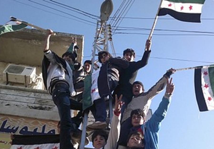 Syrians protest against Assad [file]