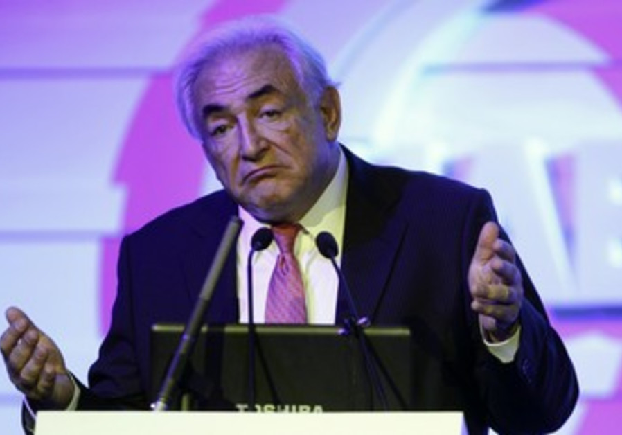Former IMF chief Dominique Strauss-Kahn.