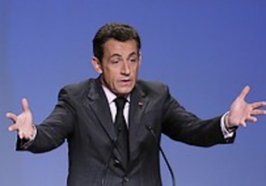 Sarkozy speaking