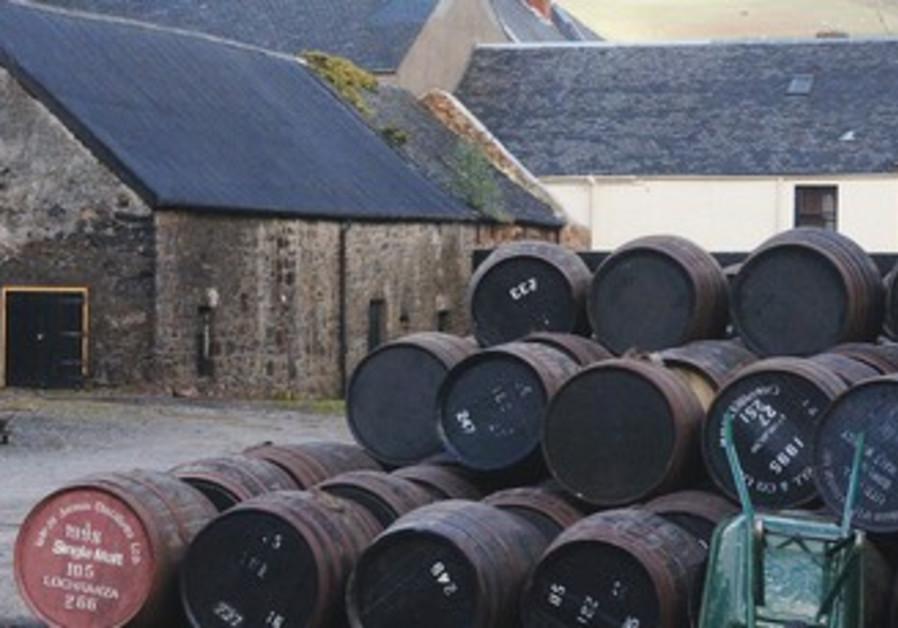 Scotch whisky distillery