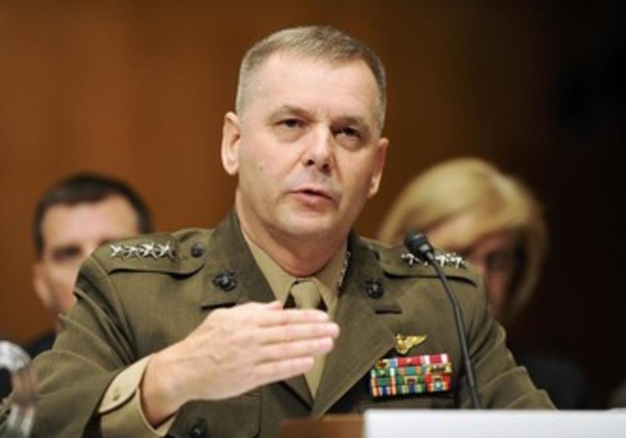 Retired US Gen. James Cartwright [file]