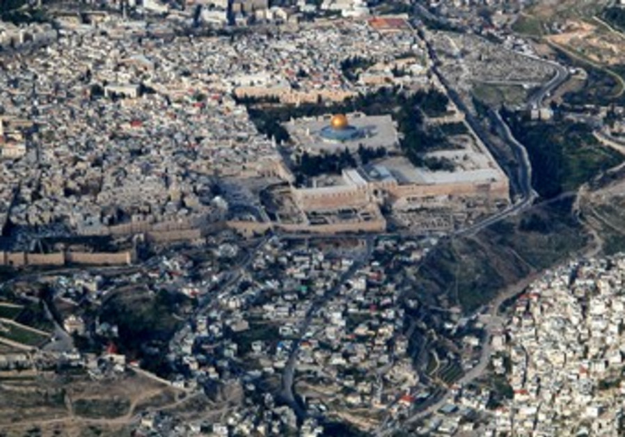 Temple Mount and City of David