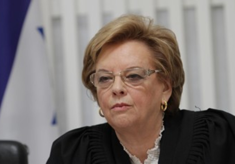 Supreme Court President Dorit Beinisch