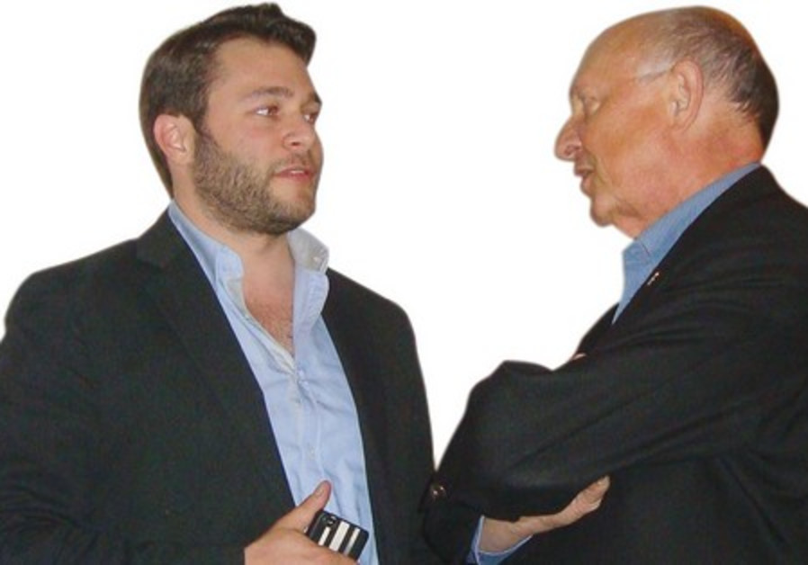 Jay Shultz with former CIA director James Woolsey