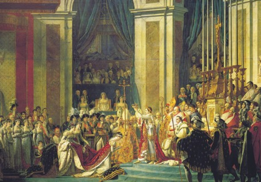 'The coronation of Napoleon,' 1807