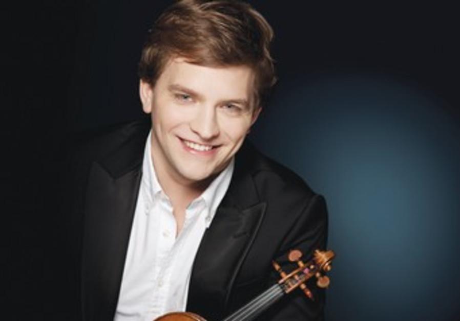Violinist Valery Sokolov