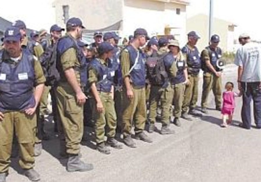 line of soldiers as morag is evacuated 298