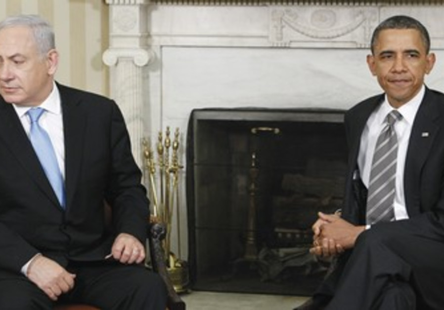 Netanyahu and Obama.