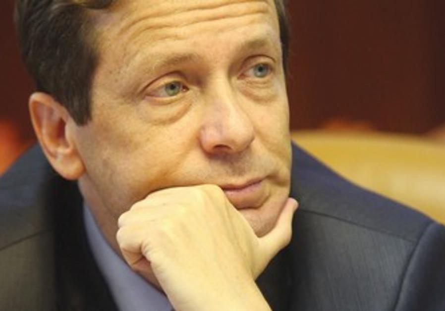 Former minister Isaac Herzog.