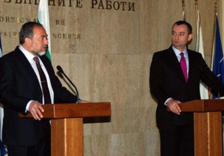 Liberman meets with counterpart Mladenov