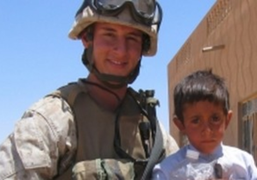 Josh Mandel during his service as a Marine in Iraq