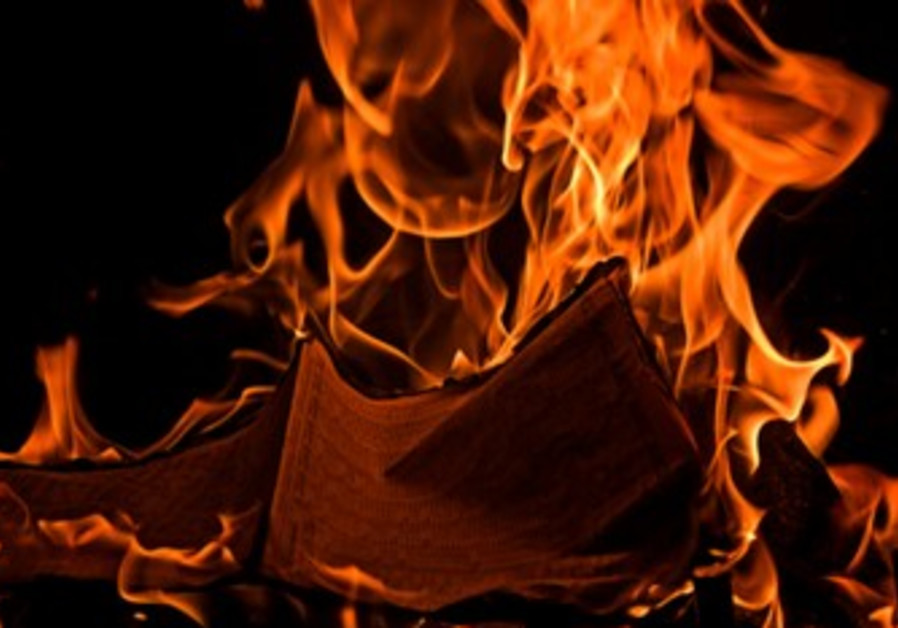Burning pages [illustrative]