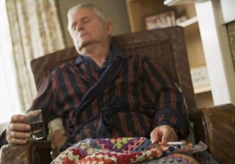 An elderly man [illustrative photo]