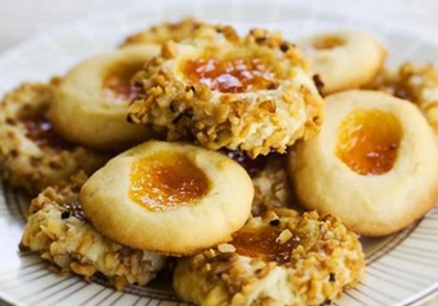 """Easy """"Krispie"""" Thumbprint Cookies"""