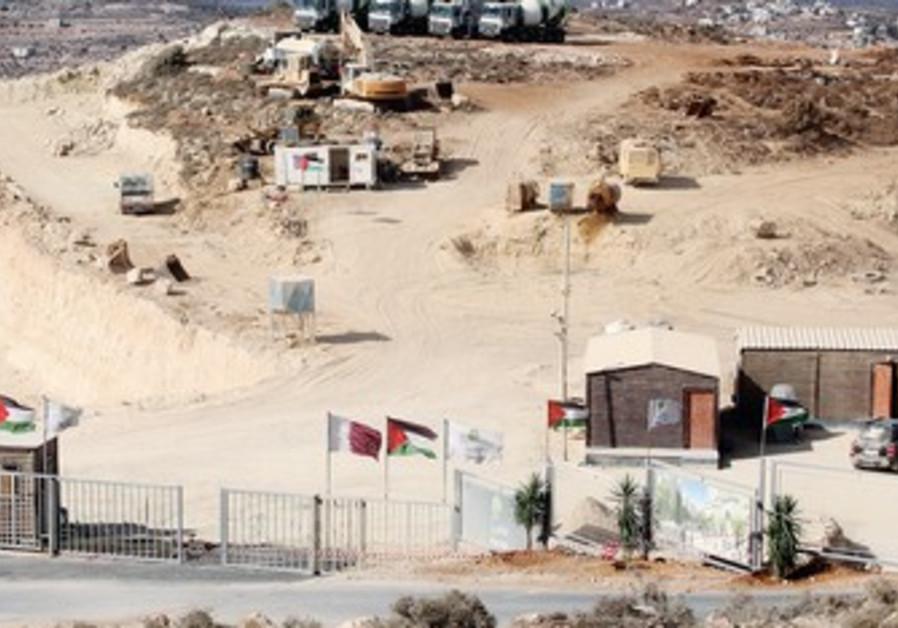 Palestinian city of Al Rawabi