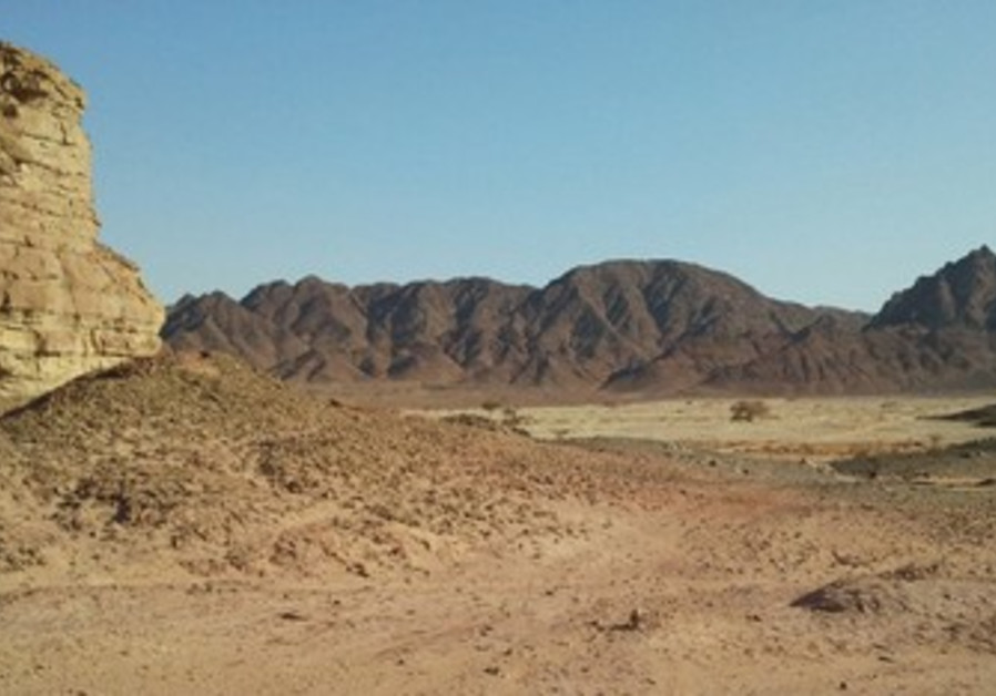 Timna Valley's Sasgon Valley