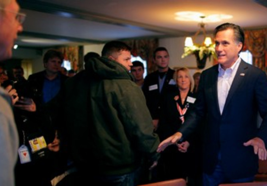 Romney campaigns in Ohio ahead of Super Tuesday