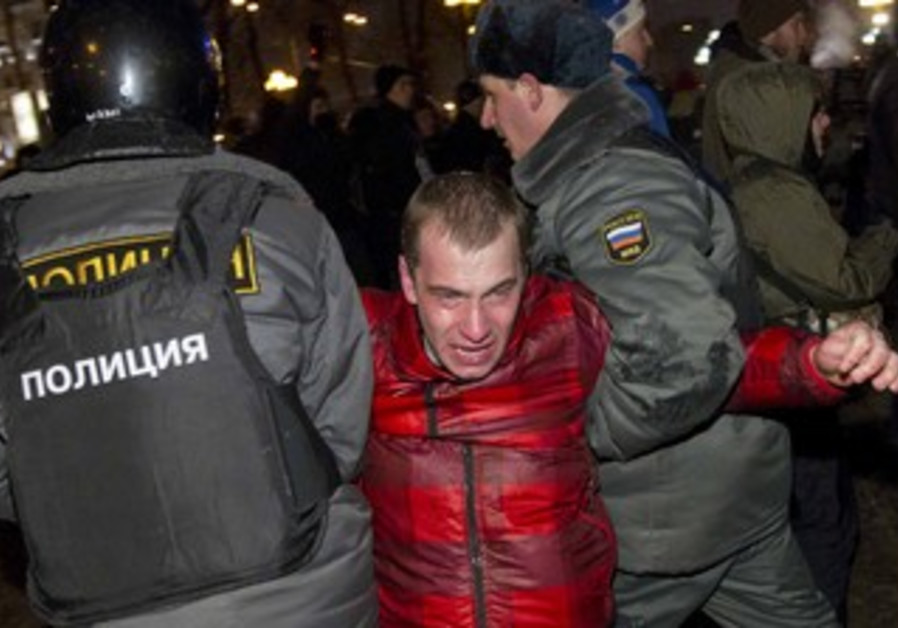 Russian Protesters fear Putin resorting to force