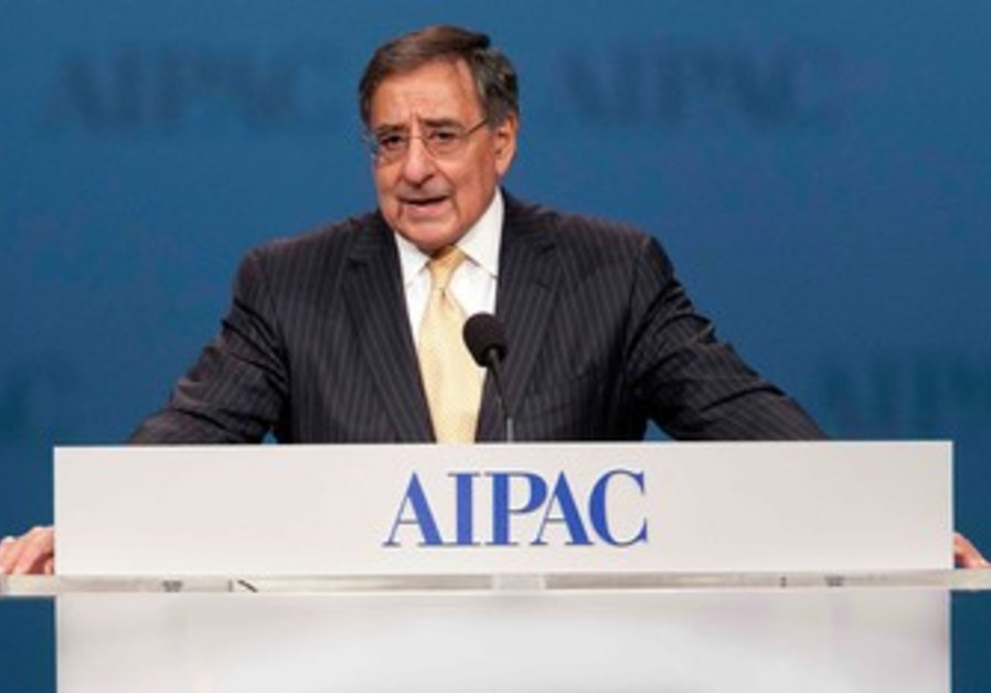 US Defense Secretary Leon Panetta at AIPAC