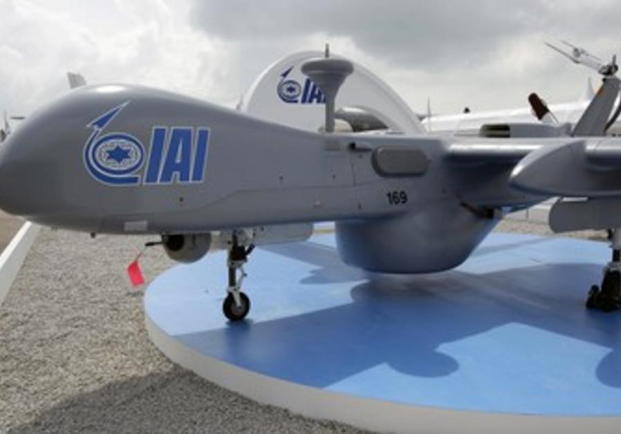 IAI Heron UAV aircraft
